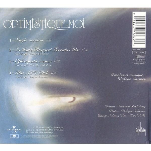 Mylene Farmer Optimistique-Moi (Dance Remixes 2)