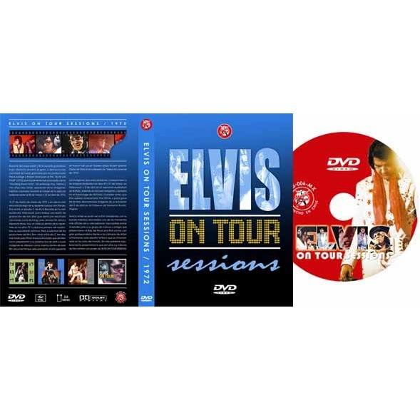 elvis presley 1 dvd on tour sessions 62 minutes unreleased march 1972 studio sessions