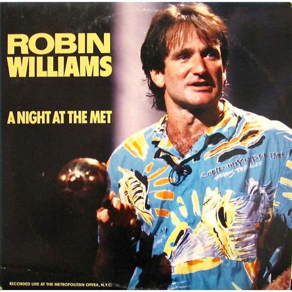 Robin Williams A Night At The Met