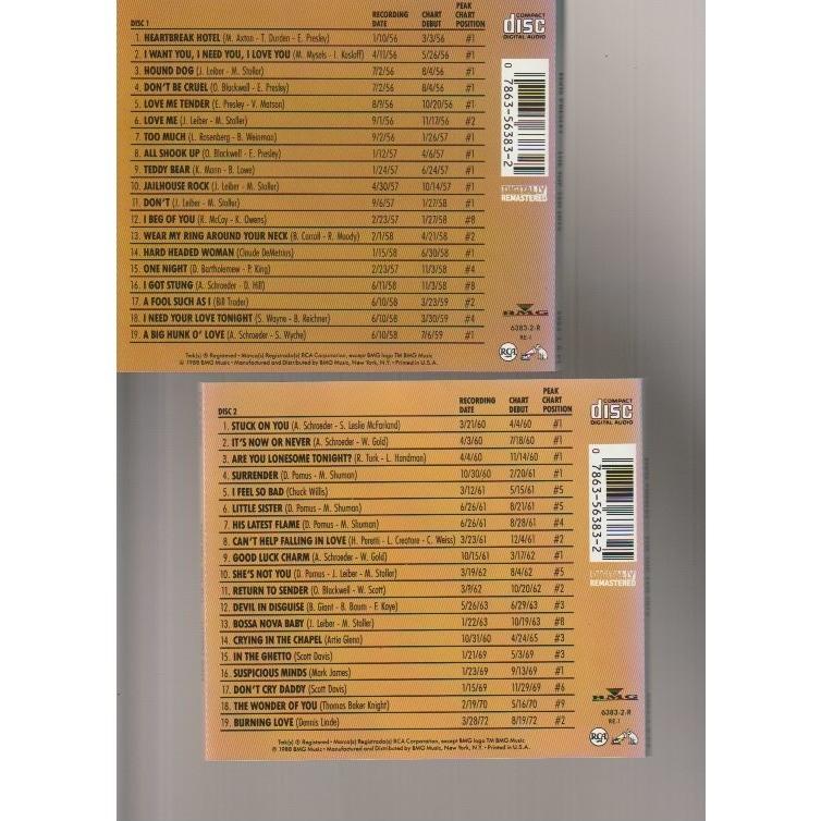 elvis presley The Top Ten Hits