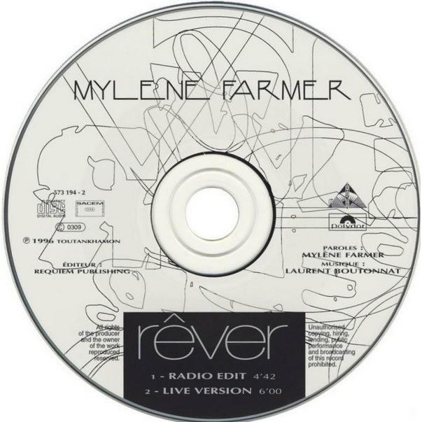 Mylene Farmer Rêver