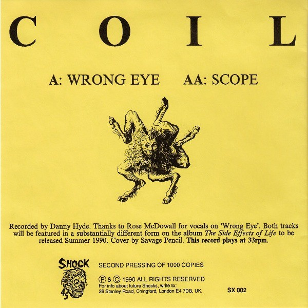 Coil Wrong Eye / Scope