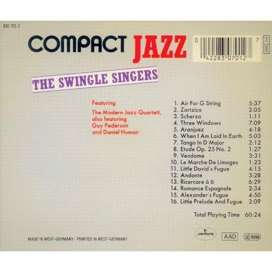 The Swingle Singers Feat. The Modern Jazz Quartett The Swingle Singers