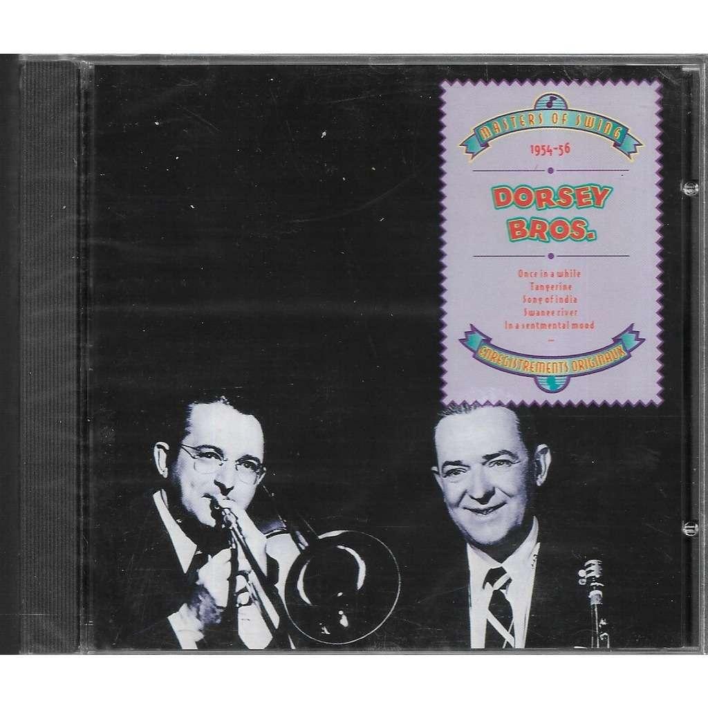 DORSEY BROS masters of swing 1954 1956