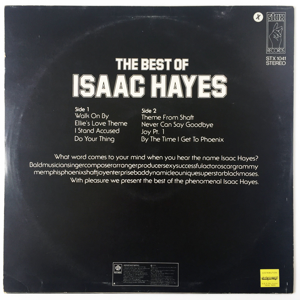 Isaac Hayes The Best Of