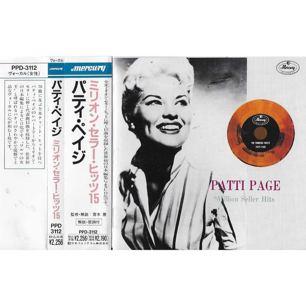 Patti Page Million Seller Hits