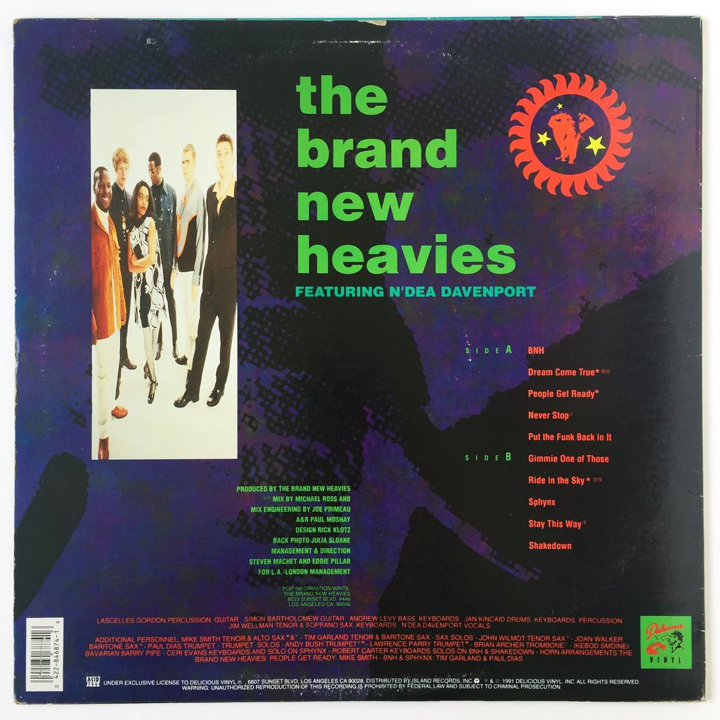 The Brand New Heavies The Brand New Heavies