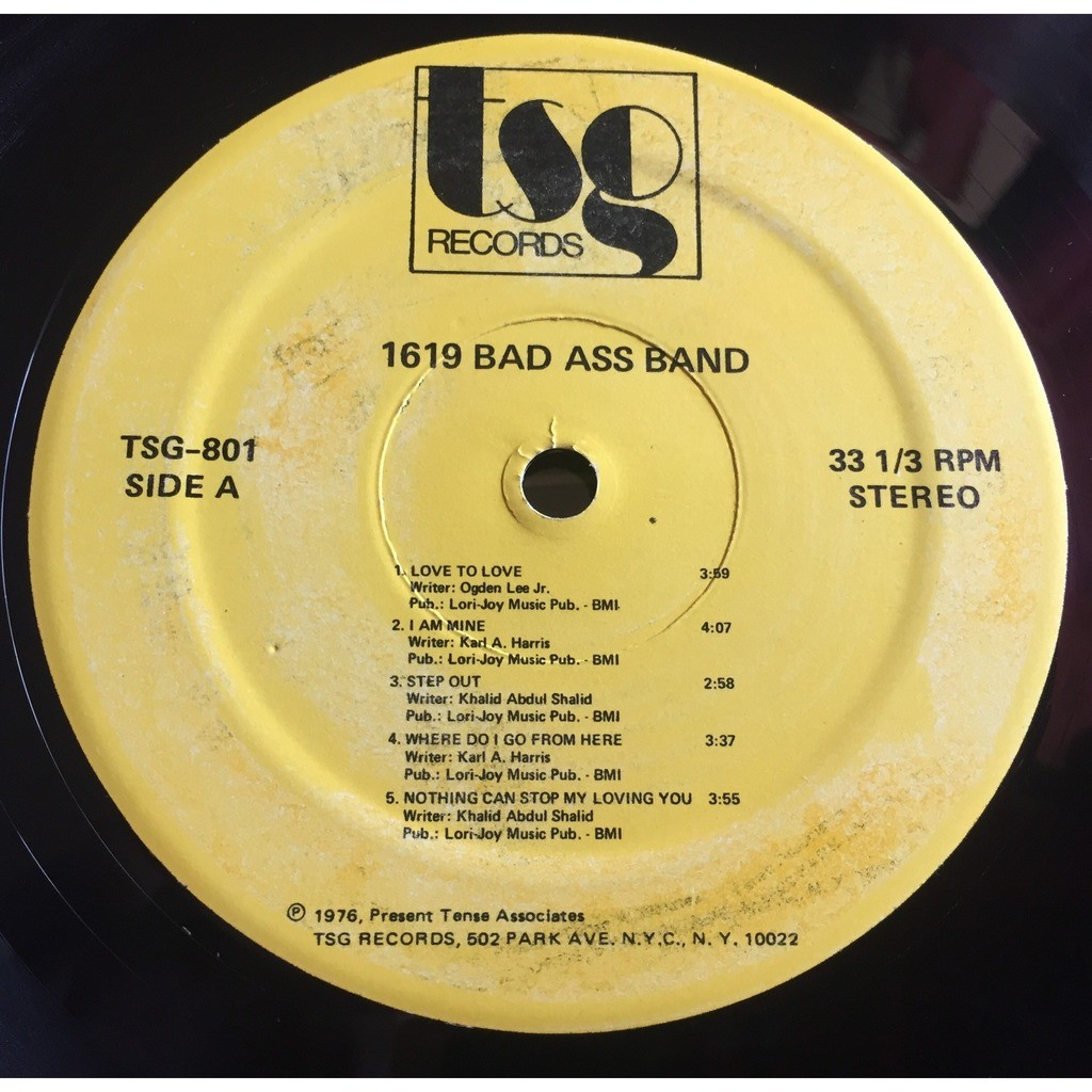 1619 Bad Ass Band Same