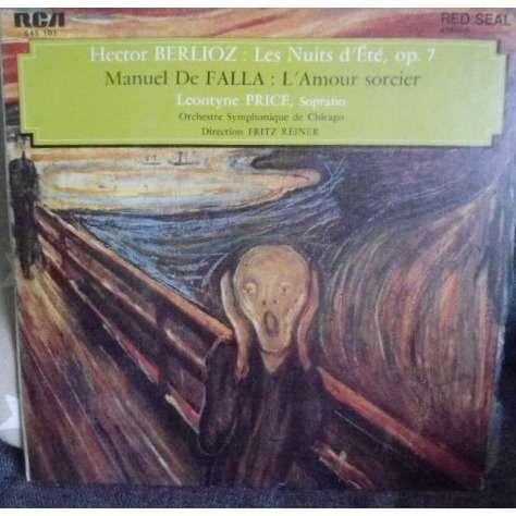 orchestre symphonique de Chicago/ F.Reiner-l.Price Berlioz : les nuits d'été op. 7 / M. De Falla : l'amour sorcier