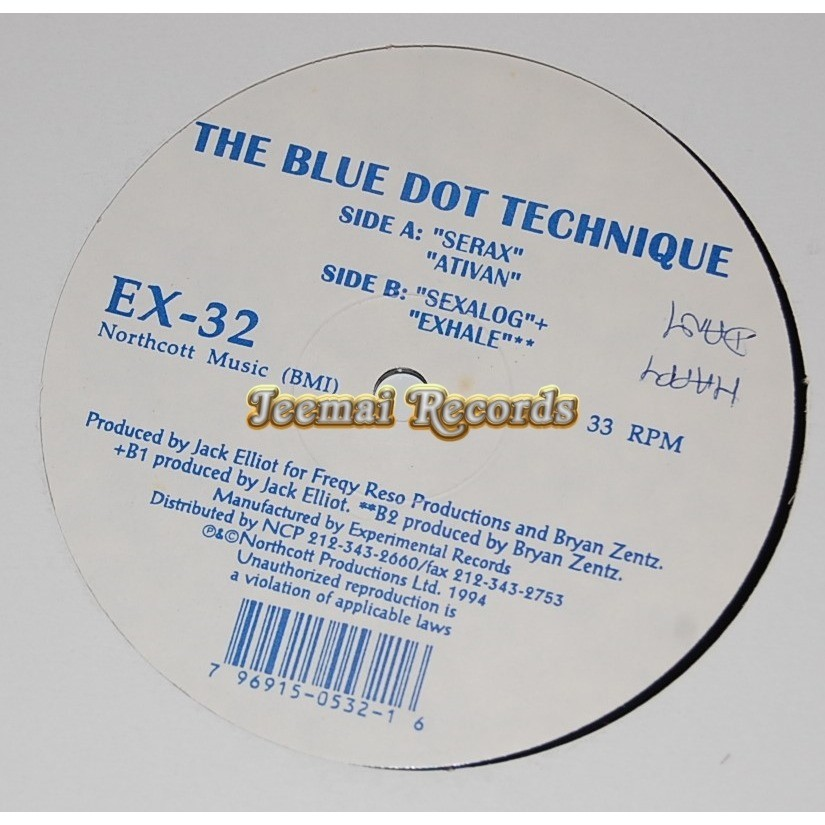 The Blue Dot Technique Untitled