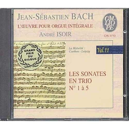 Jean-Sébastien Bach / René Isoir Les Sonates en Trio N° 1 à 5