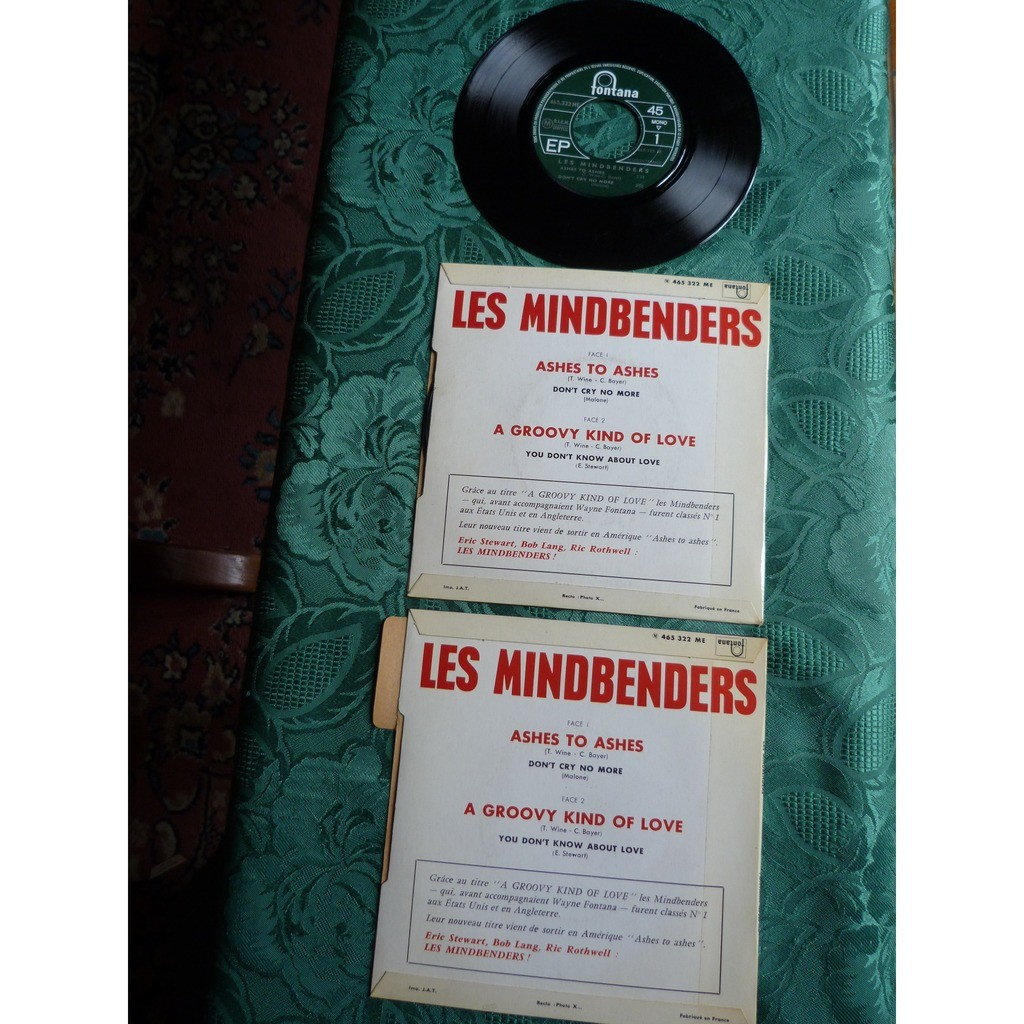 MES MINDBENDERS ASHES TO ASHES