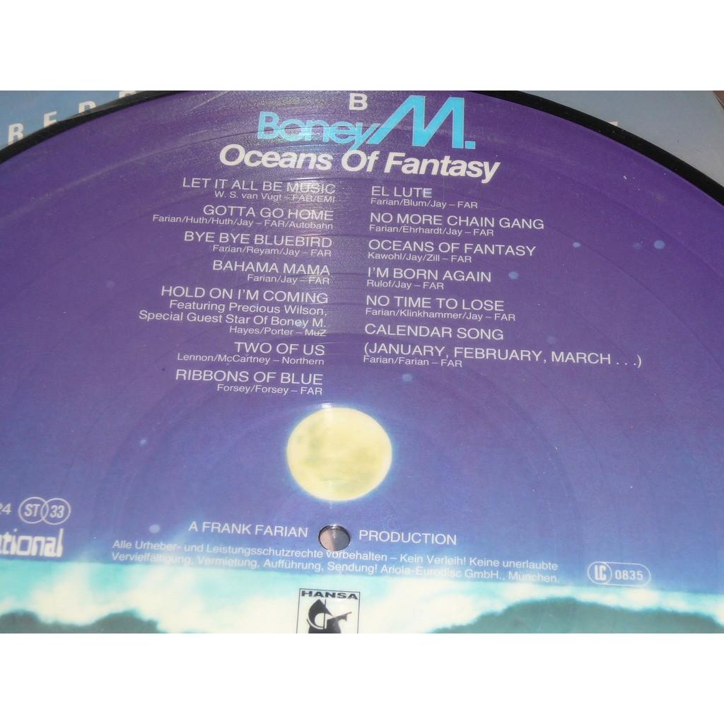 Boney M. Oceans Of Fantasy (picture disc)