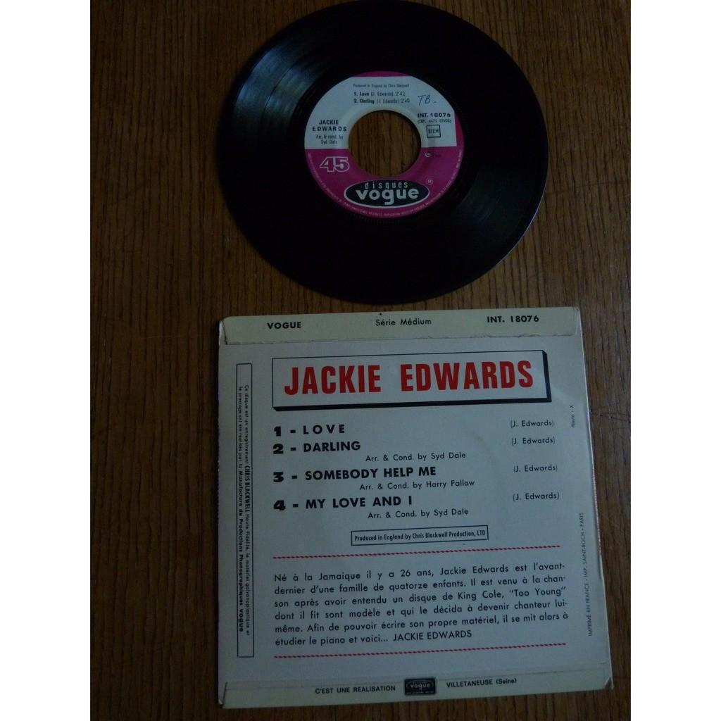 jackie edwards LOVE