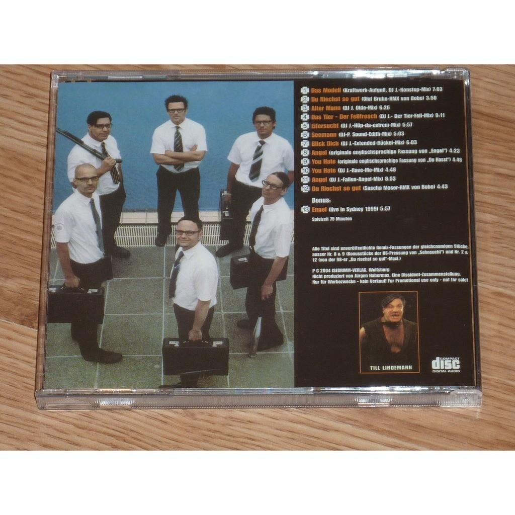 RAMMSTEIN WOLFE IM SCHAFSPELZ CD