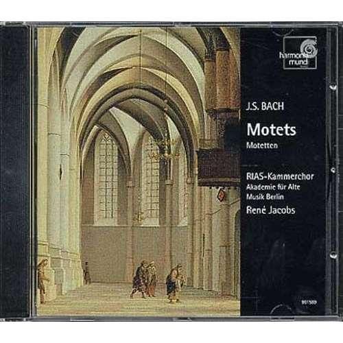 Jean-Sébastien Bach / René Jacobs MOTETS