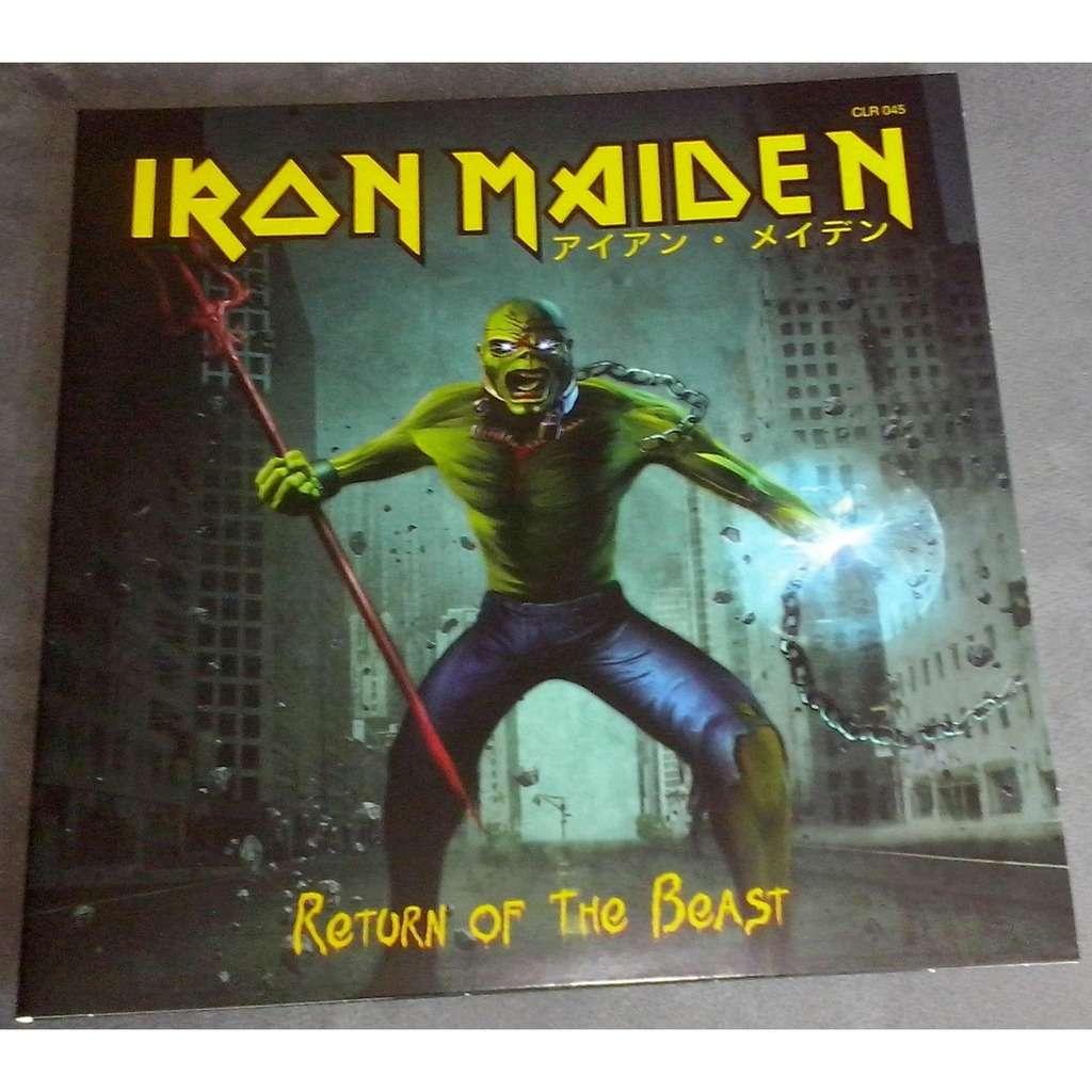 Iron Maiden Return Of The Beast (2xlp) Ltd Edit Gatefold Sleeve -Jap