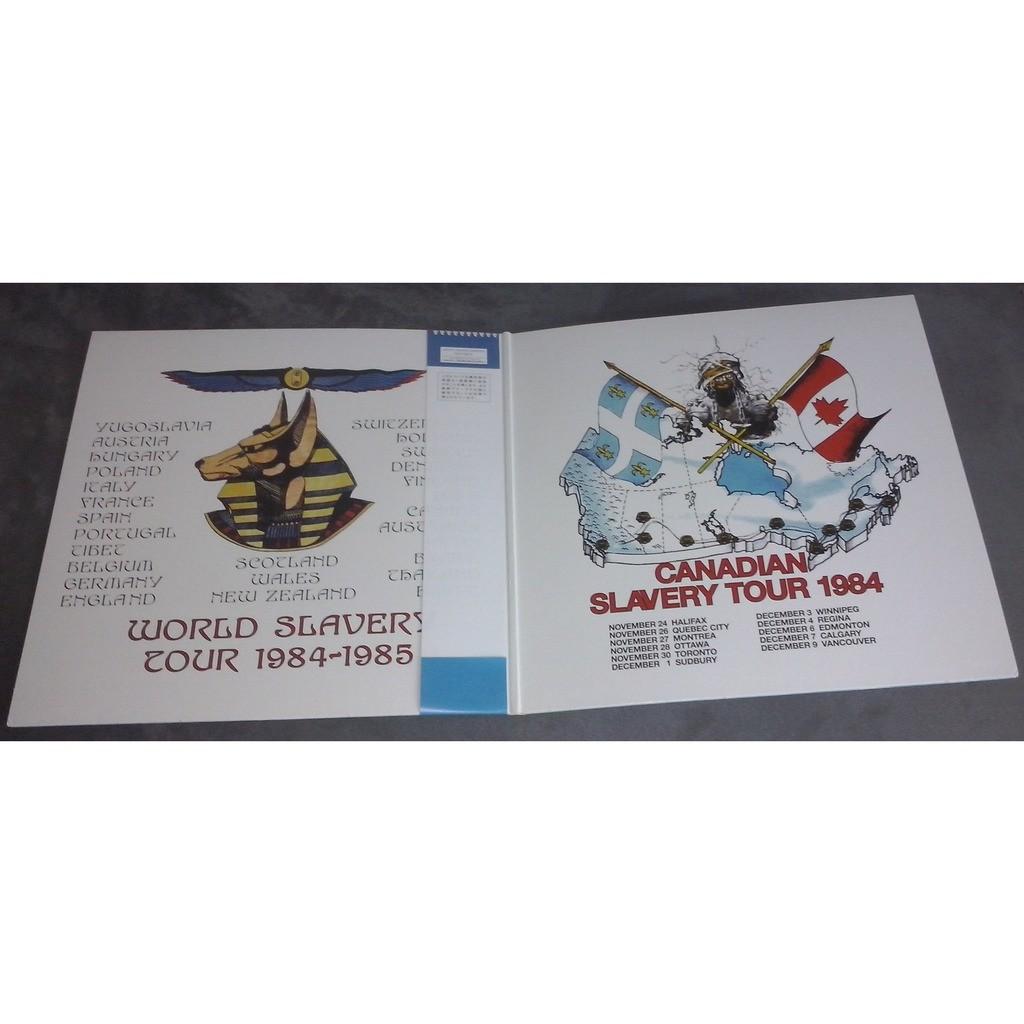 Iron Maiden Canadian Slavery Tour (2xlp) Ltd Edit Gatefold Sleeve With Poster -Jap