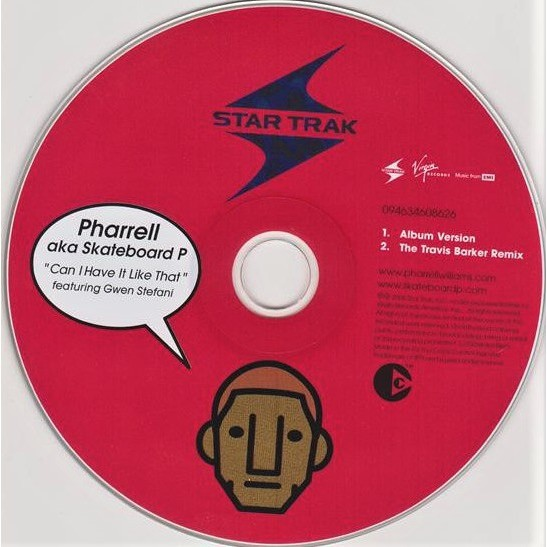 Pharrell Aka Skateboard P (feat. Gwen Stefani) Can I Have It Like That