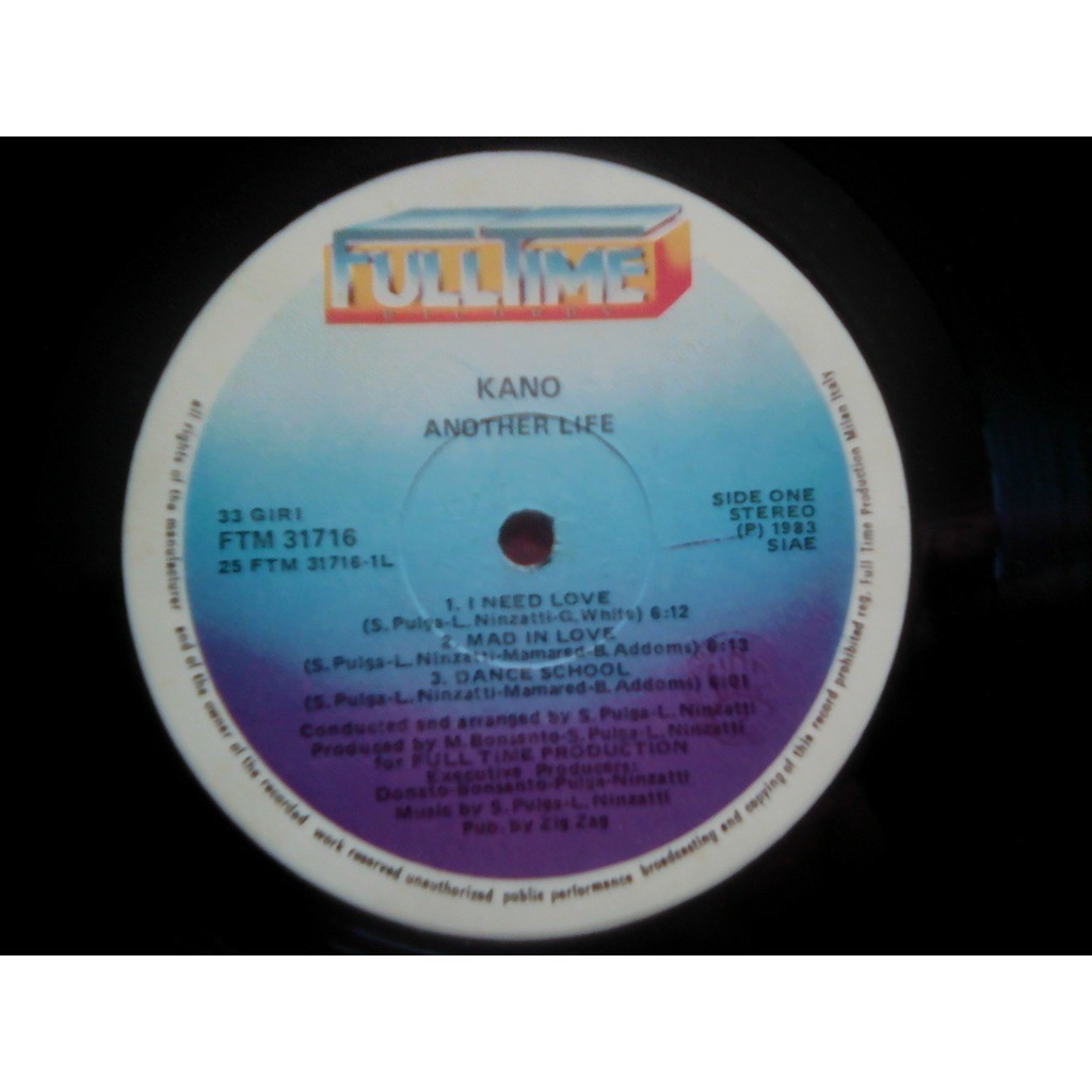 Kano Another life (1983)