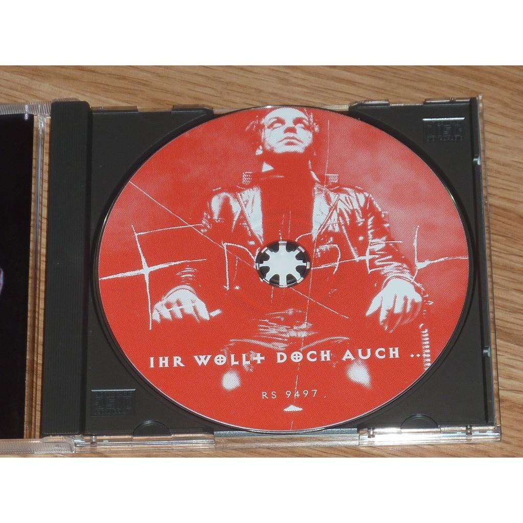 Rammstein Ihr Wollt Doch Auch ...CD