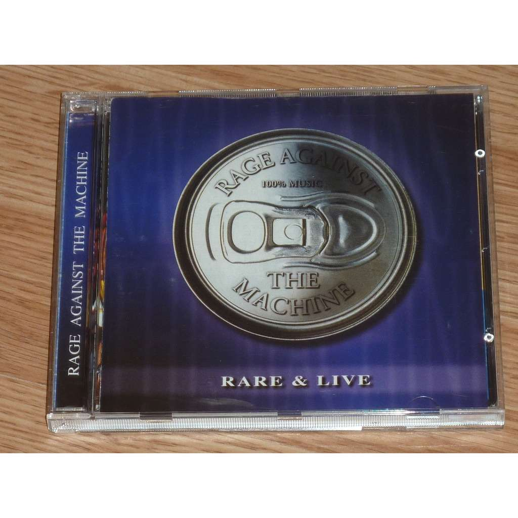 RAGE AGAINST THE MACHINE RARE & LIVE CD