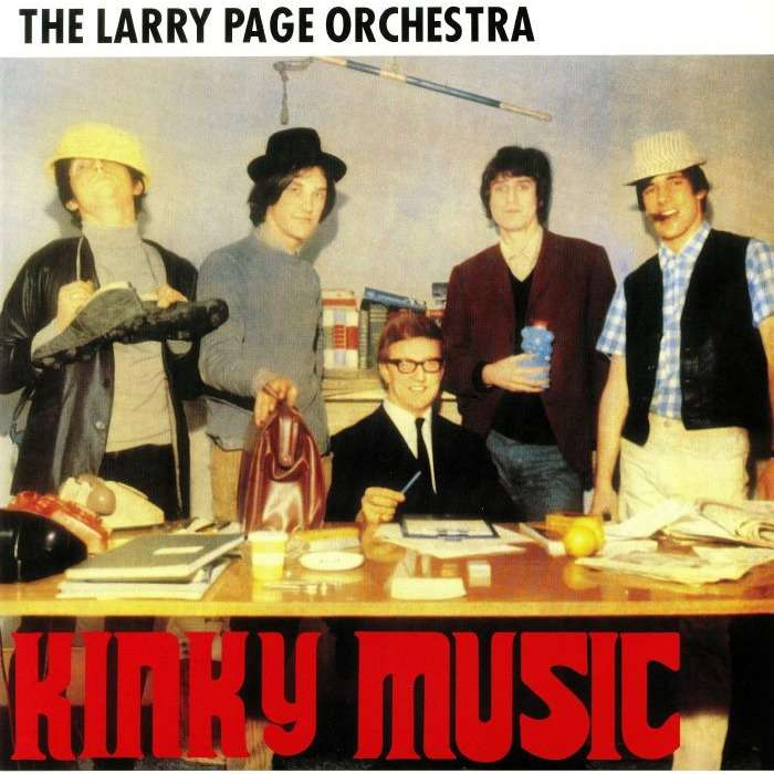 Larry Page Orchestra Kinky Music (lp)