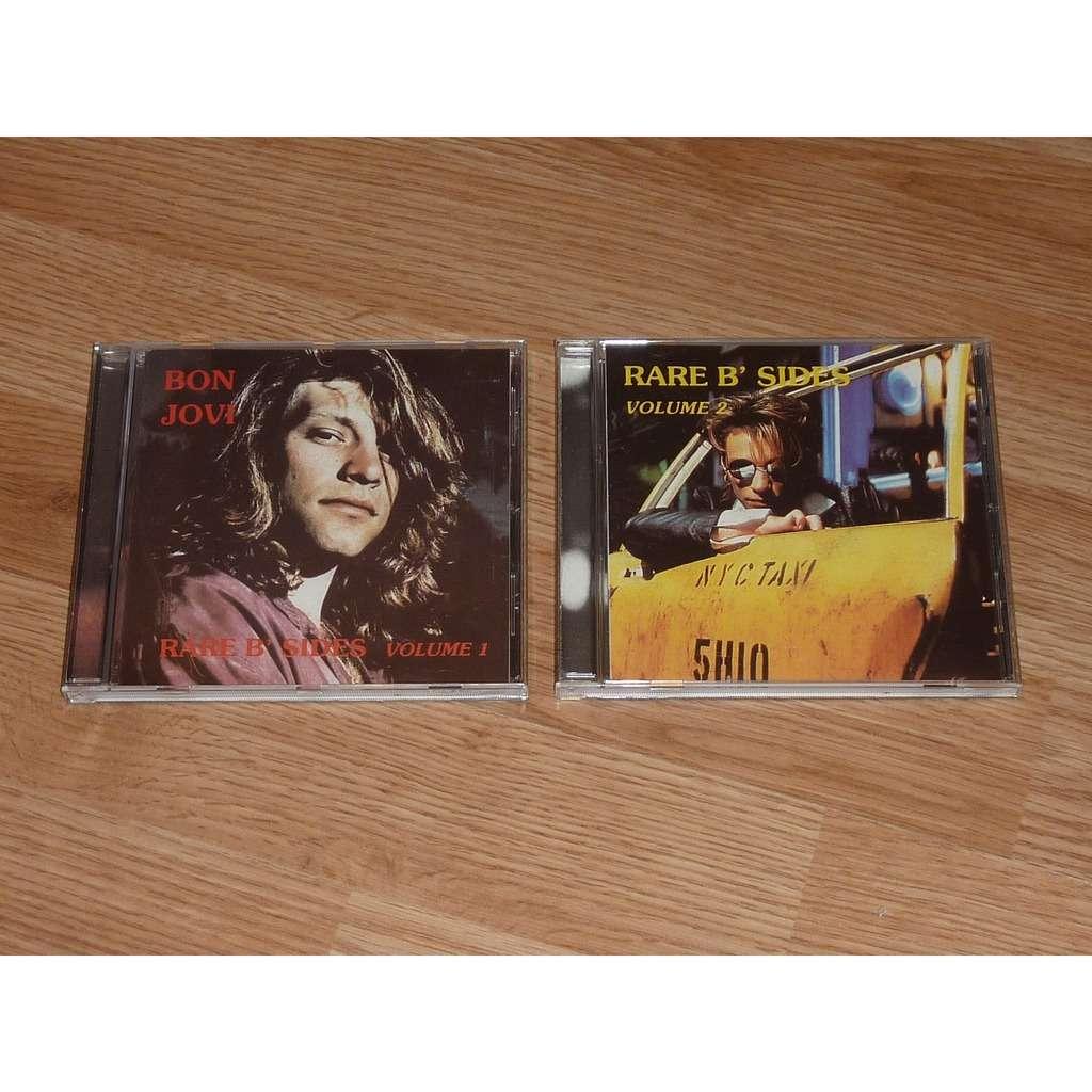 BON JOVI RARE B SIDES VOLUME 1 & 2 (DOUBLE CD)