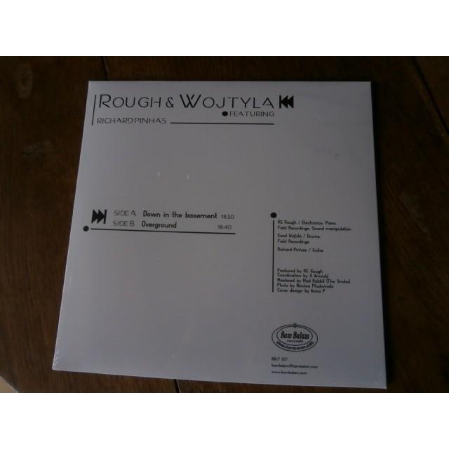 ROUGH & WOJTYLA featuring Richard Pinhas s/t