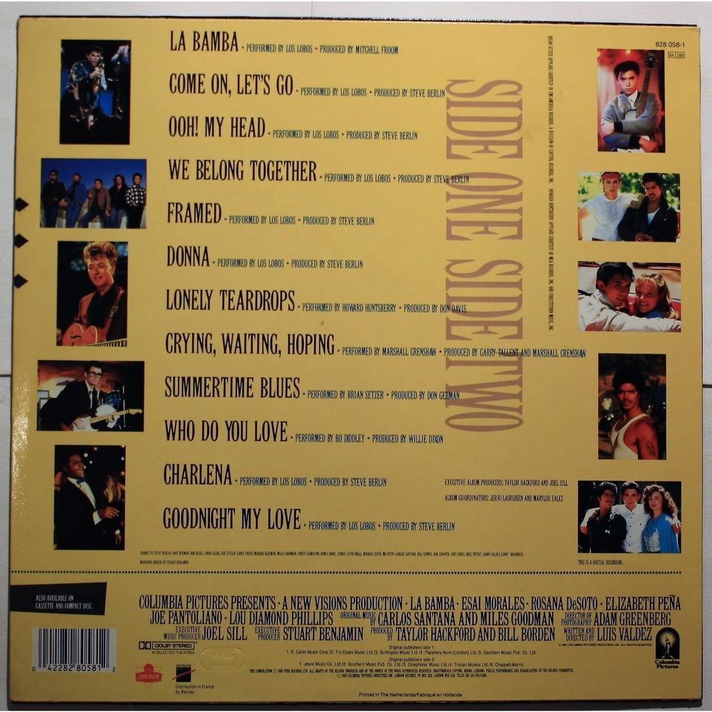 Various La Bamba - Original Motion Picture Soundtrack