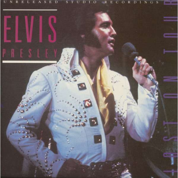 elvis presley 1 LP lost on tour 8 outtakes 1972
