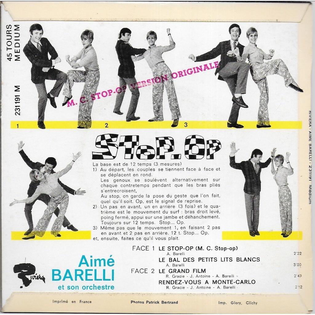 Aimé BARELLI Dansez le Stop-Op