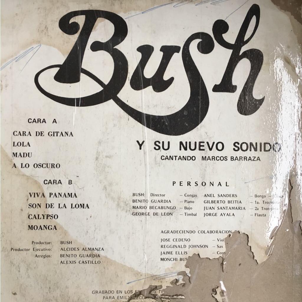 Bush y su Nuevo Sonido canta Marcos Barraza