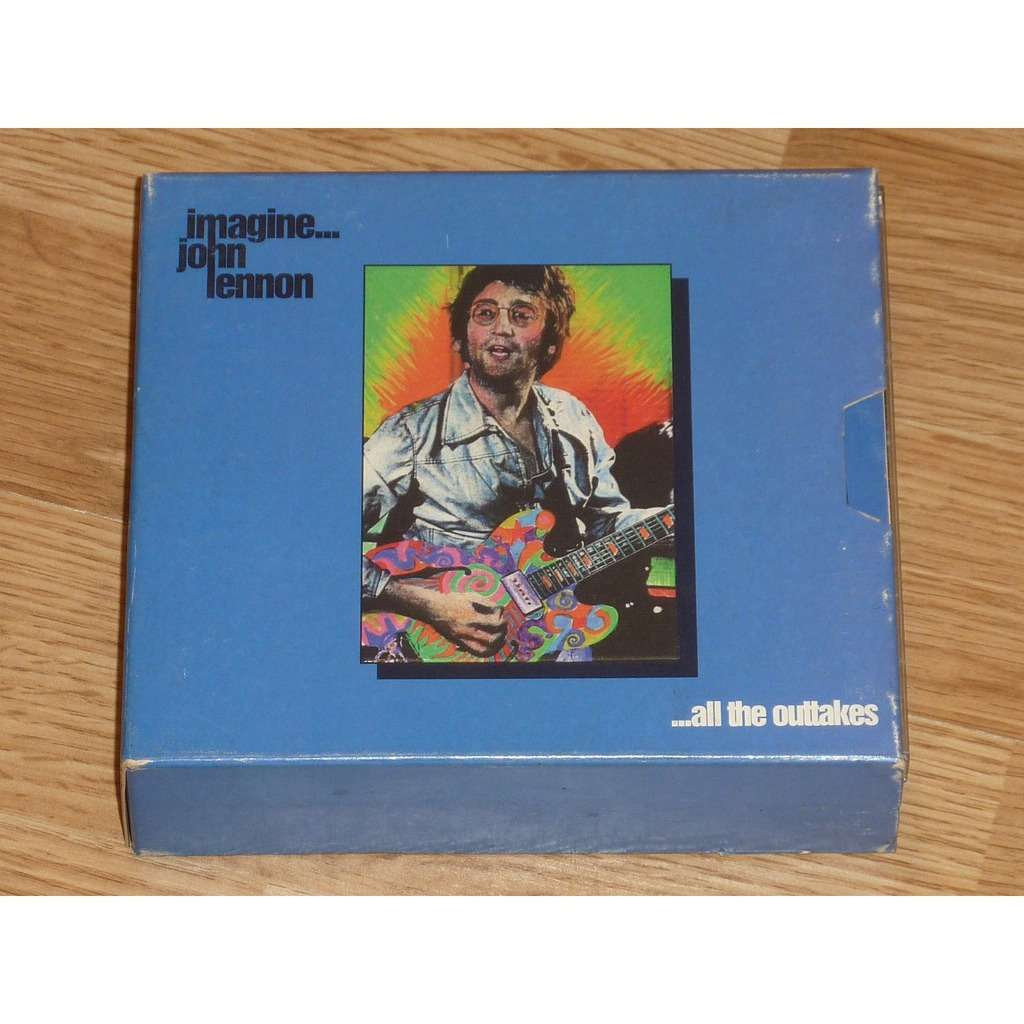 JOHN LENNON IMAGINE...ALL THE OUTTAKES 3CD BOX