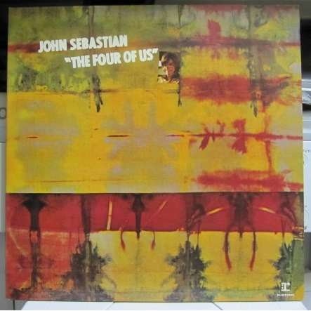 JOHN SEBASTIAN FOUR OF US -blue label promo-