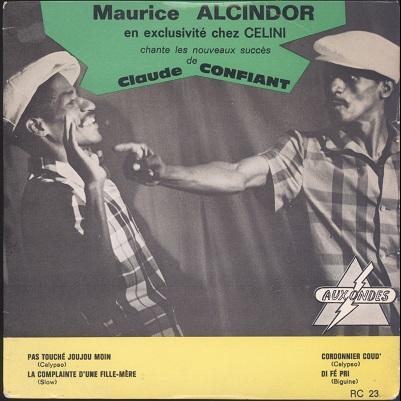 Maurice Alcindor Pas Touché Joujou Moin