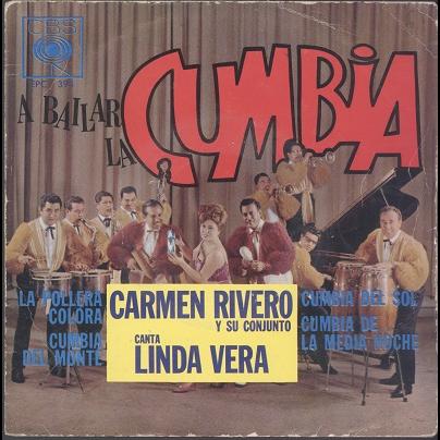 Carmen Rivero A bailar la cumbia
