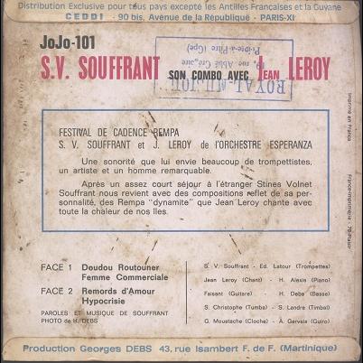 Sv Souffrant Jean Leroy Festival De Cadence Rempa 7inch