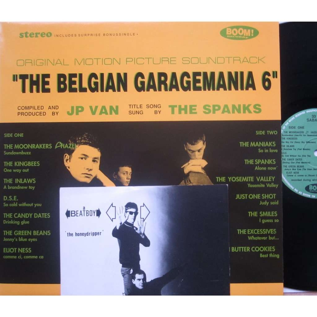 divers artistes - various artist the belgian garagemania 6