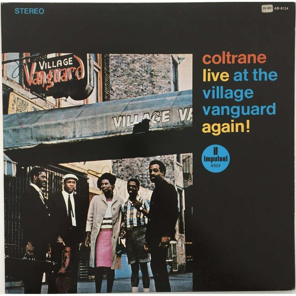 John Coltrane Pharoah Sanders Jimmy Garrison Live At The Village Vanguard Again!