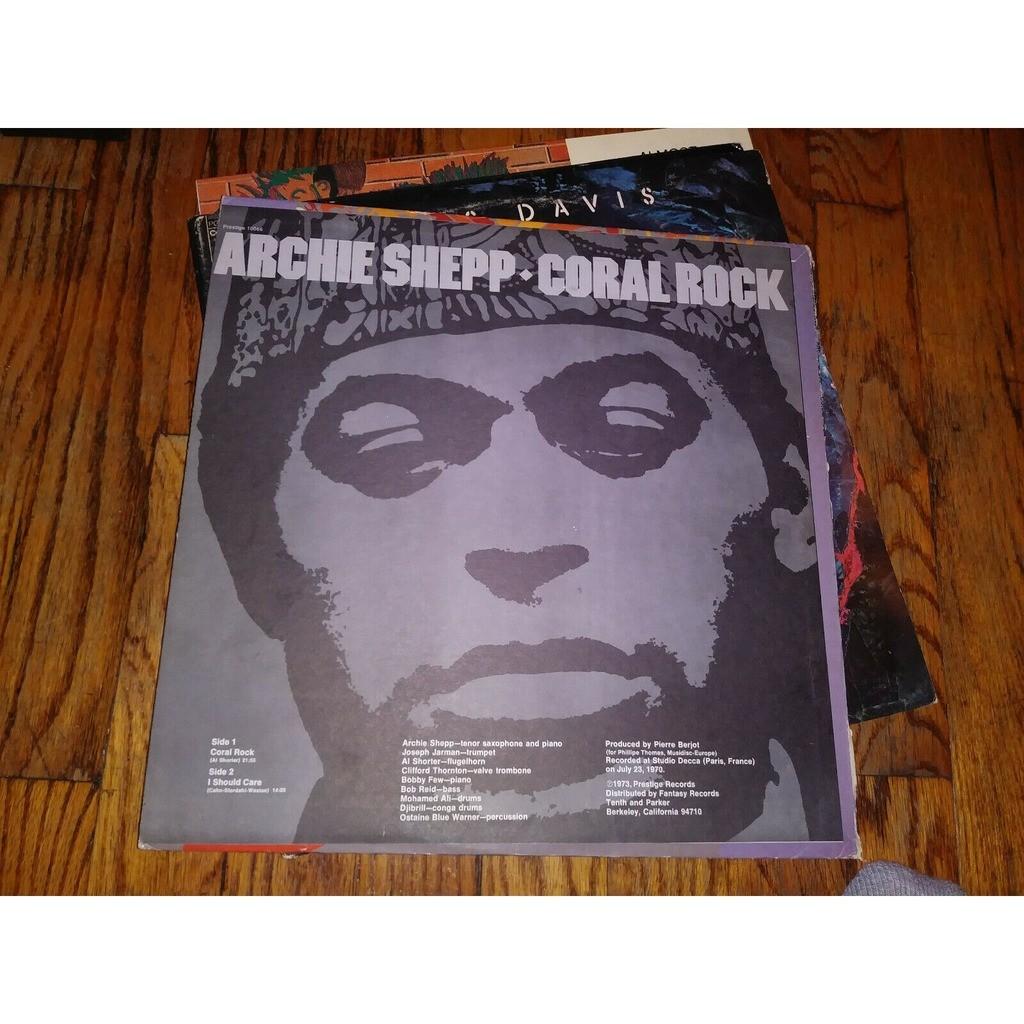 Archie Shepp Alan Shorter C. Thornton L. Bowie Coral Rock
