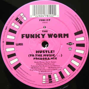 the funky worm hustle! ( to the music...)