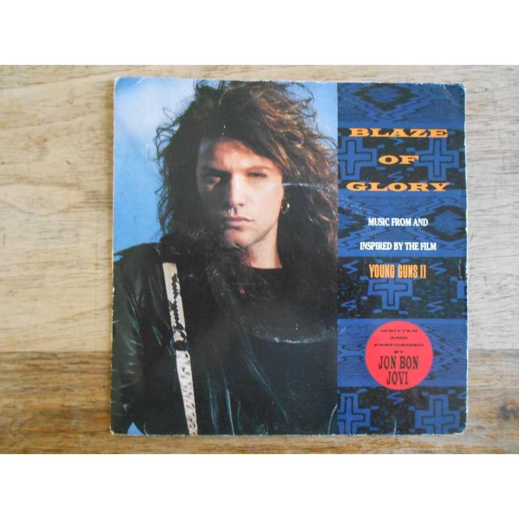 Jon BON JOVI (+ Jeff Beck + Little Richard) blaze of glory - you really got  me now (ost 'Young Guns II')