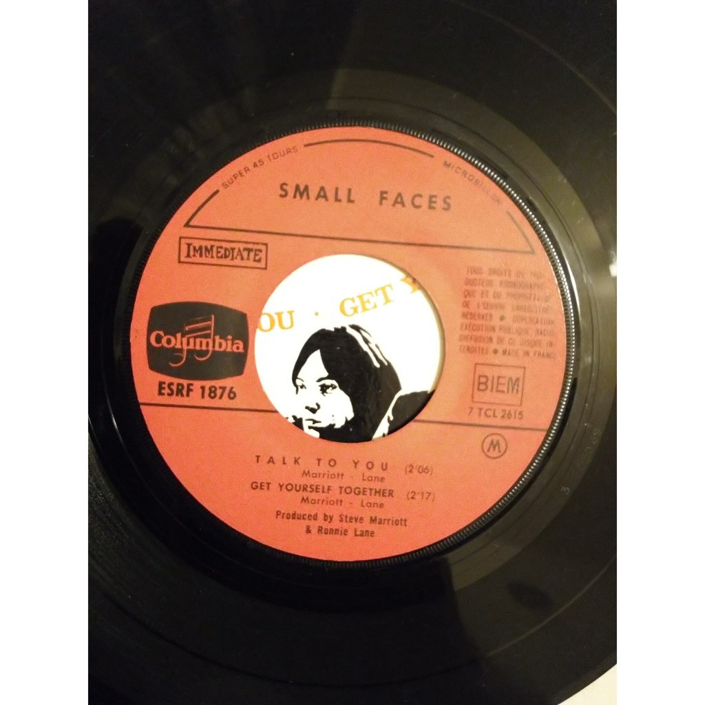 Small Faces here come the nice ( ultra rare french cover)