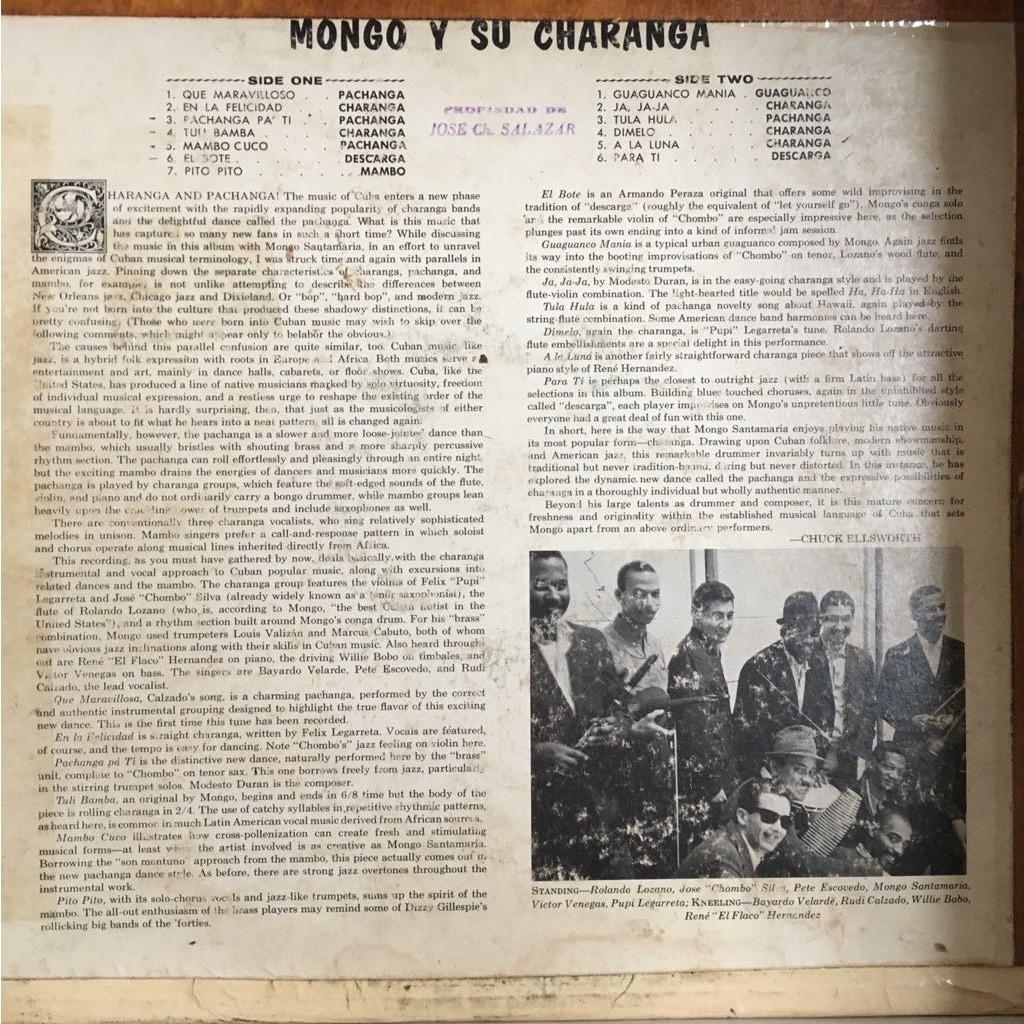Mongo Santamaria y su Orquesta Sabroso