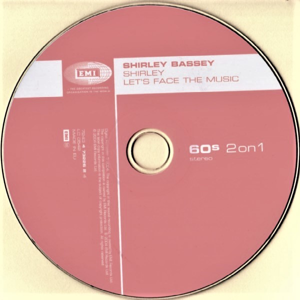Shirley Bassey Shirley / Let's Face The Music (2 Albums on 1 CD)