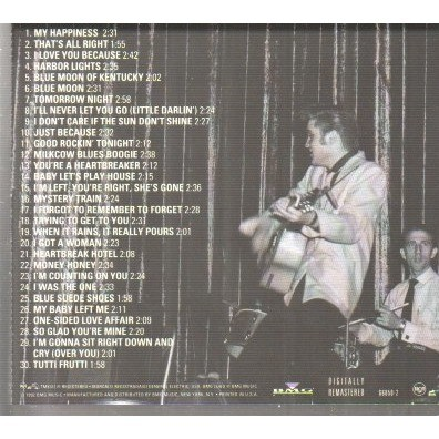 Elvis Presley The King Of Rock 'N' Roll: The Complete 50's Masters Disc 1