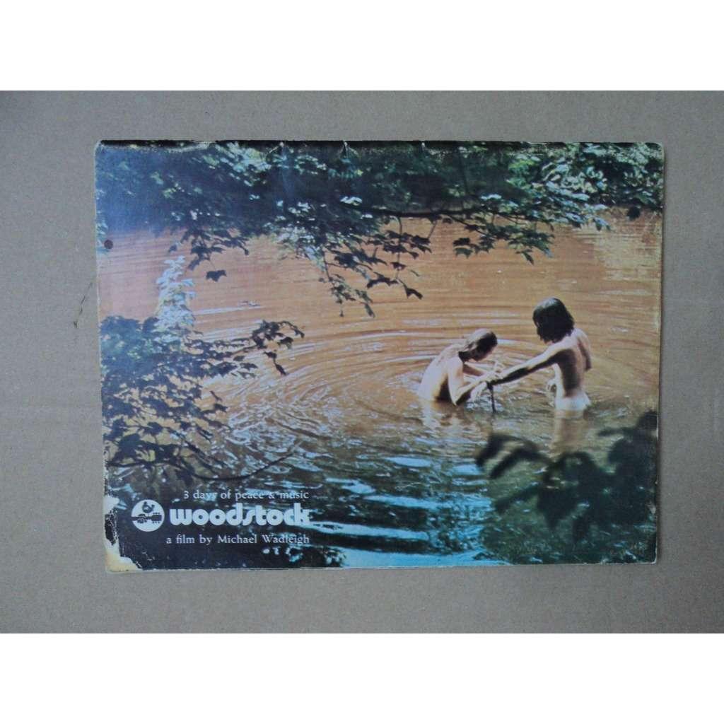 woodstock programme woodstock 3 days of peace & music programme du film