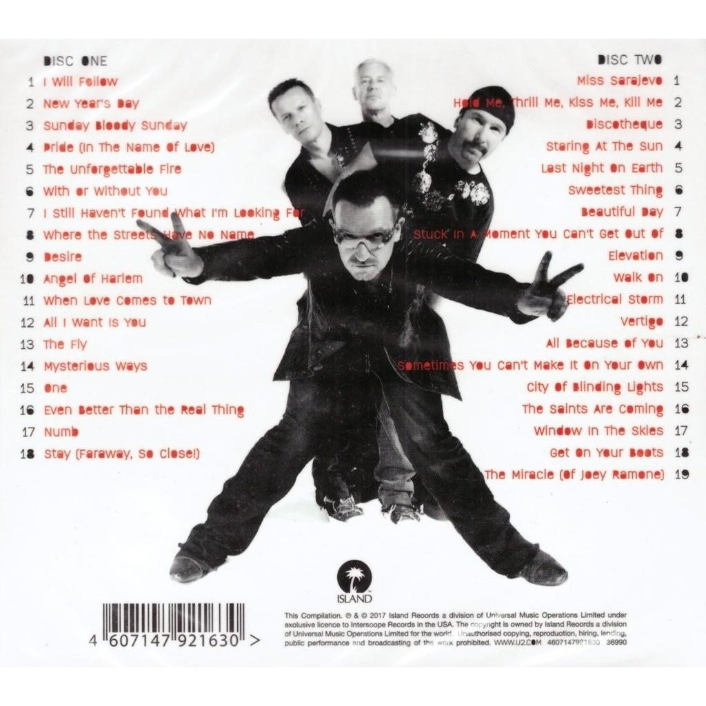 U2 Greatest Hits 2CD New Sealed
