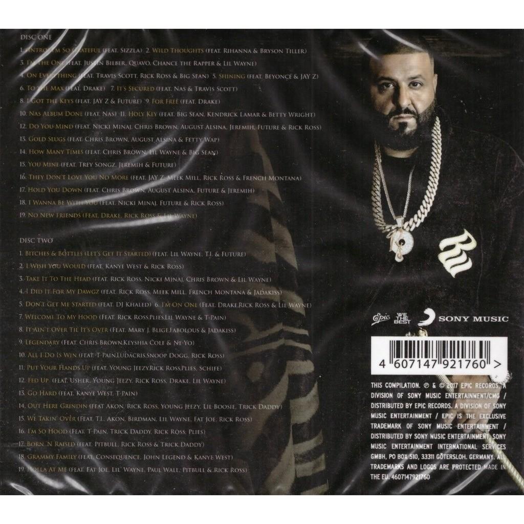 Dj Khaled Greatest Hits 2CD New Sealed